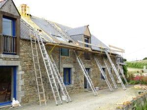 SKYTECH PRO : Rénovation thermique d'un ancien corps de ferme