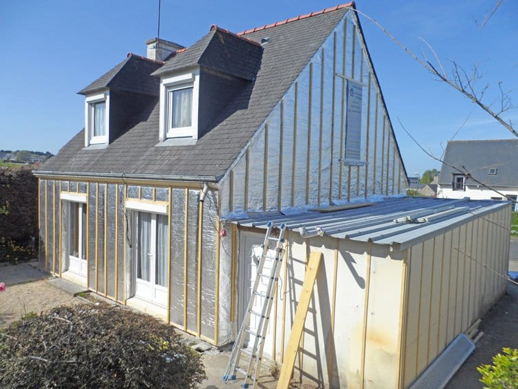 SKYTECH PRO XL : Refurbishment of the external thermal insulation (ETICS)