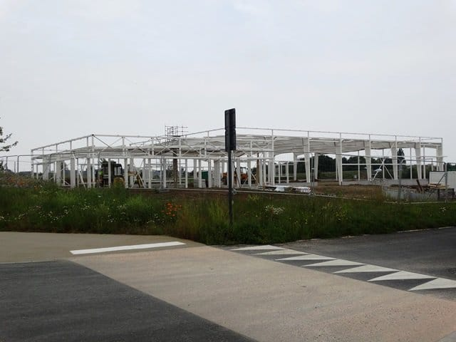 CONSTRUCTION OF WINCO TECHNOLOGIES' NEW HEAD OFFICE