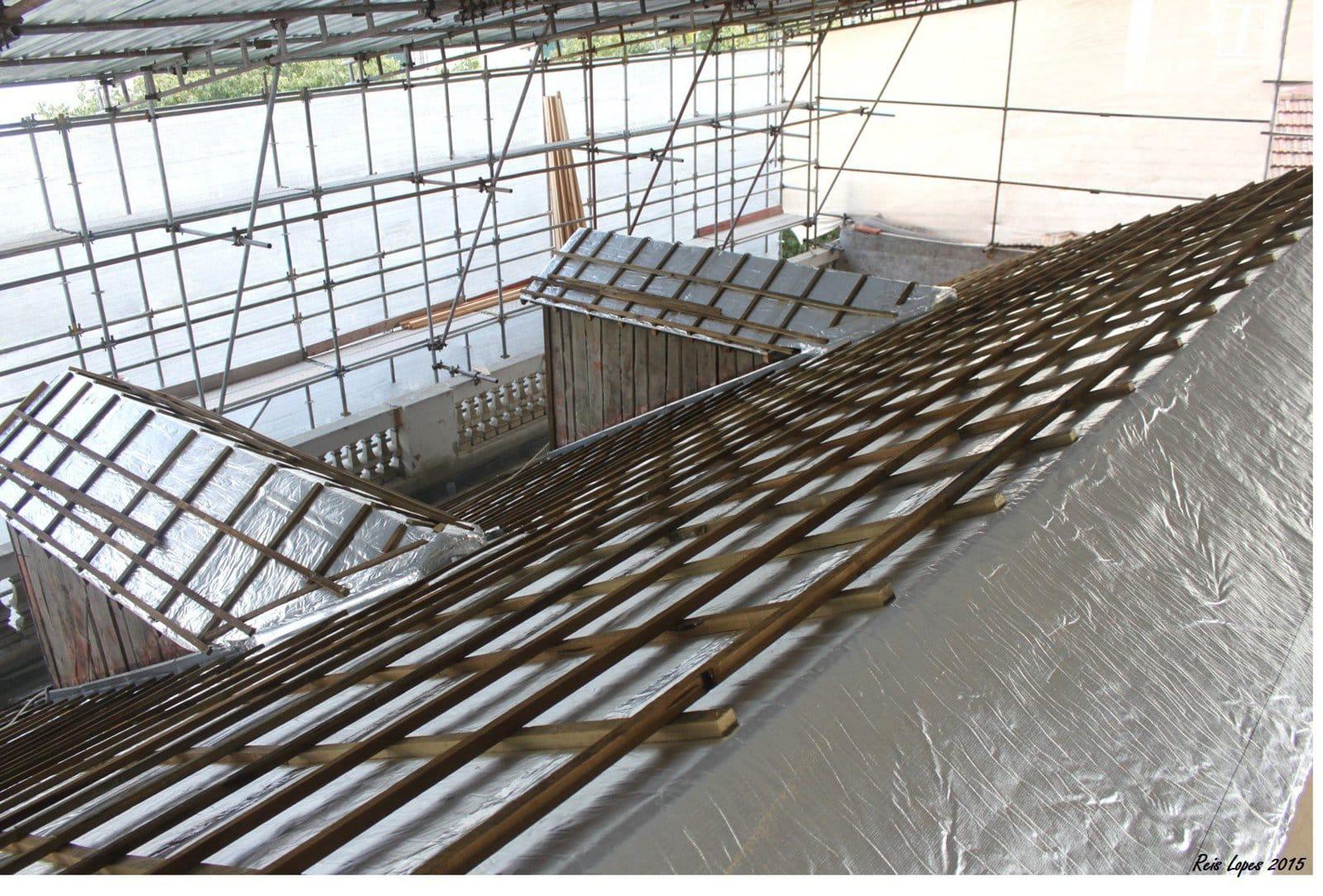 SKYTECH PRO : rénovation thermique sur un bâtiment classé de Lisbonne