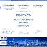 diplome-de-laureat-initiative-pme-thermoplast-mci-technologie