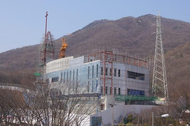 SKYTECH PRO : Rénovation thermique d'une église en Corée