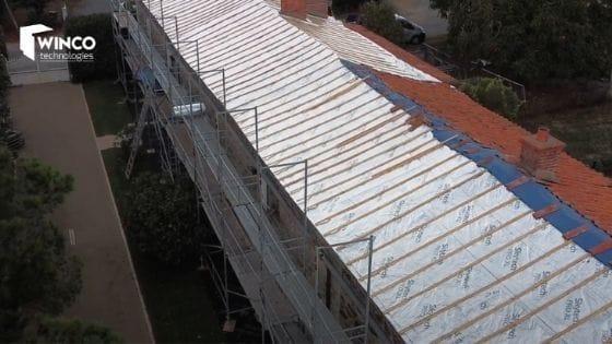 Rénovation d'une toiture de 400 m² en Vendée